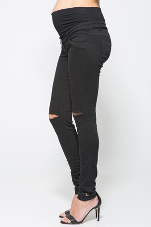 Picture of SUPER STRETCH FRAYED SKINNY JEANS