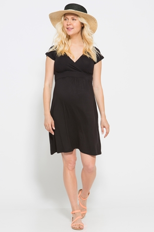 Picture of CAP SLEEVE NURSING DRESS
