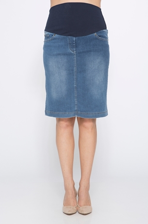 Picture of DENIM PENCIL SKIRT