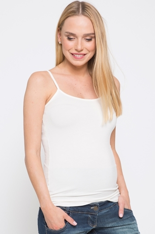 Picture of Spaghetti Strap Cami Top Off White