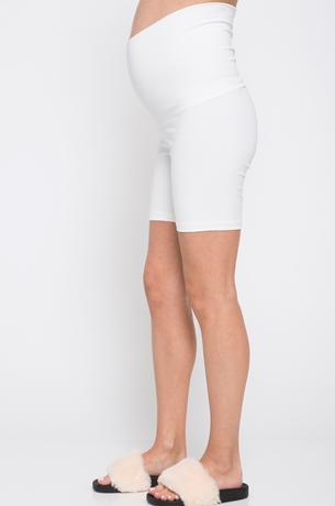 Picture of Short Maternity Leggings White