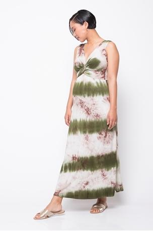 Picture of TIE DYE NURSING MAXI DRESS