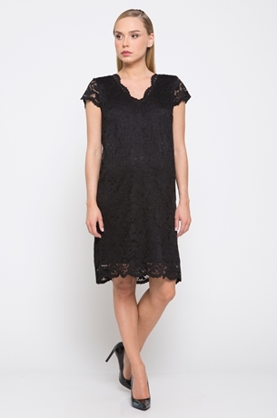 Picture of FITTED LACE DRESS