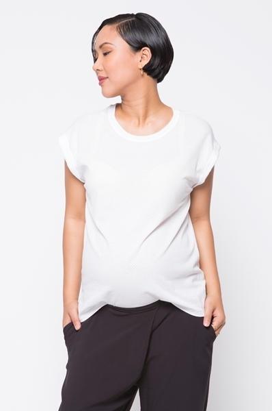 Picture of Mesh Tee White