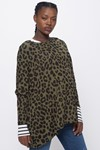 Picture of IRIS LEOPARD LONG SLEEVE TOP