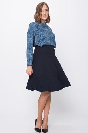 Picture of EFRAT PEPLUM SKIRT