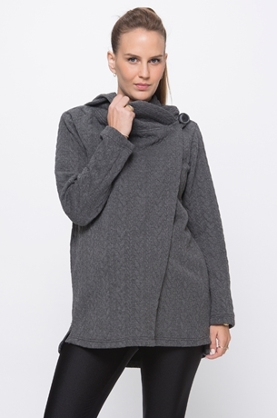 Picture of QUILTED HOODIE COAT