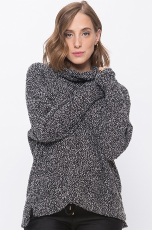 Picture of EDEN COWL NECK SWEATER