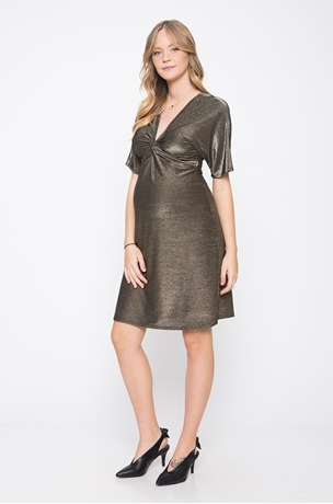 Picture of GOLDY LUREX DRESS
