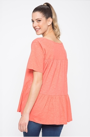 Picture of PEPLUM BACK TEE