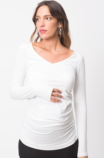 Picture of Vivi Top Long Sleeve White