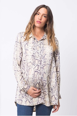 Picture of ANIMAL PRINT BLOUSE