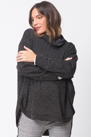 Picture of CROSSOVER KNIT SWEATER