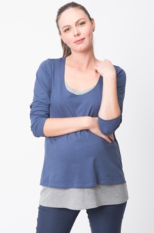 Picture of DOUBLE LAYERED NURSING TOP