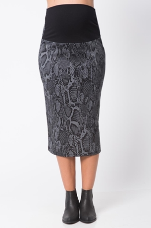 Picture of DIVA MIDI PRINT SKIRT