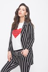 Picture of STRIPED SUIT JACKET