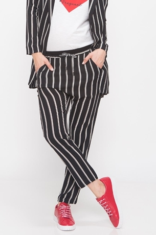 Picture of STRIPED SUIT PANTS