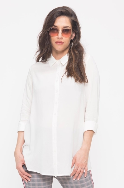 Picture of Resort Button Down Shirt White