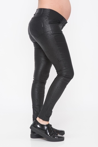 Picture of FAUX LEATHER PREMIUM JEANS