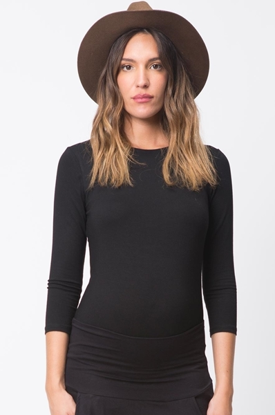 Picture of Basic 3/4 Top Black