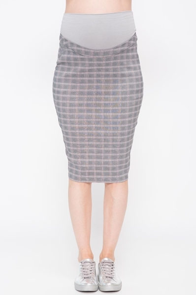 Picture of LILIAN CHECKERED SKIRT