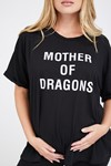 Picture of Mother of dragons Tee Black