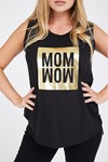 Picture of Momwow Tee Black