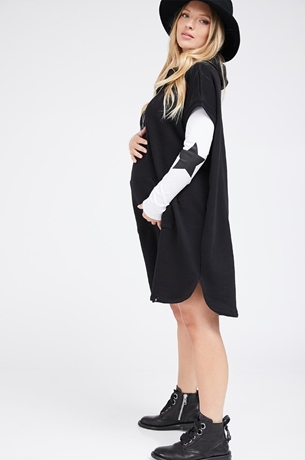 Picture of STAR NECKLACE HOODIE DRESS