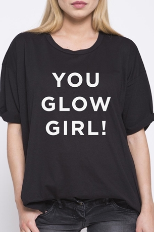 Picture of YOU GLOW GIRL TEE