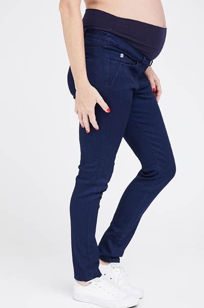 Picture of Donna Super Skinny Jeans Blue