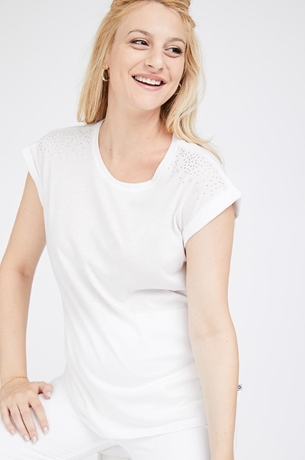 Picture of Blondie Tee White
