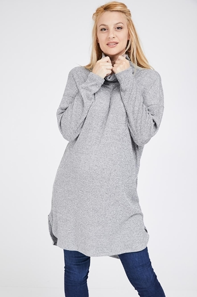 Picture of MARGO TUNIC RIBBED DRESS