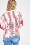 Picture of Patch Top Red and White