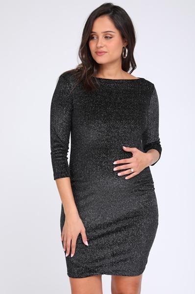 Picture of Mirray Lurex Velvet Dress