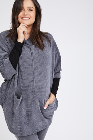Picture of MANDY KNIT TOP GREY