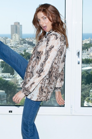Picture of BETTY TOP SNAKE PRINT