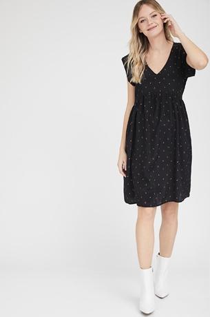 Picture of Sarai dress Black print