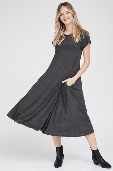 Picture of Daria dress Black stripes