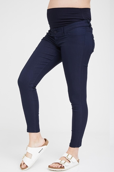 Picture of Cropped Vogue Pants Navy