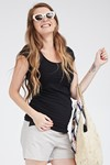 Picture of Baby-grow top Black