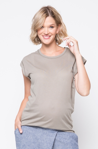 Picture of Mesh Tee Olive