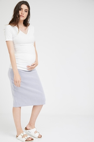 Picture of Kate Skirt Blue Stripe