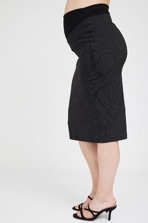 Picture of Kate Skirt Black Stripe