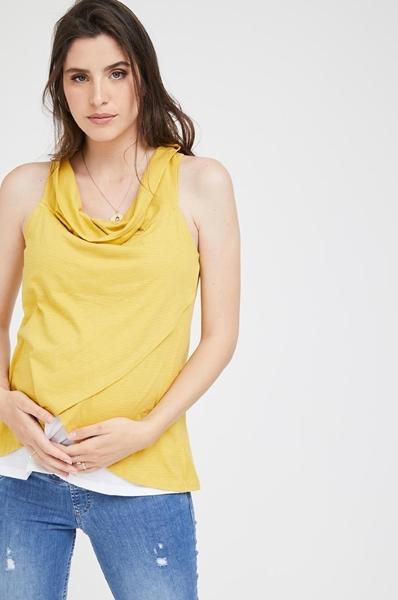 Picture of Tina Nursing Tank Yellow