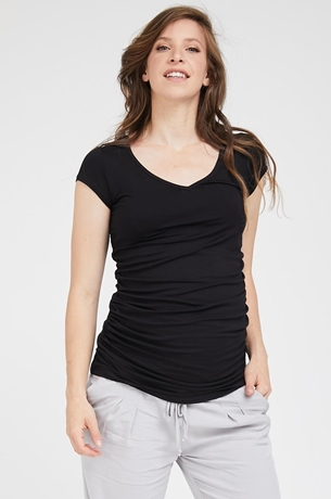 Picture of Vivi Top S.sleeve Black