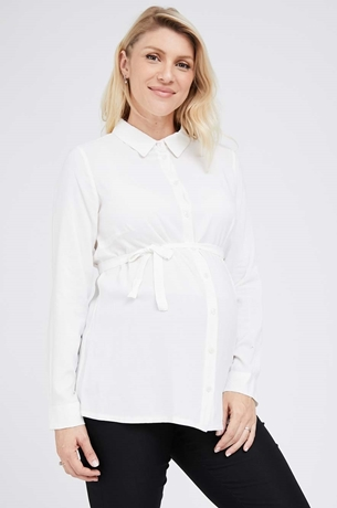 Picture of Button Through Blouse Cream