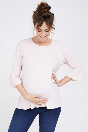 Picture of Bell Sleeve Top Pink