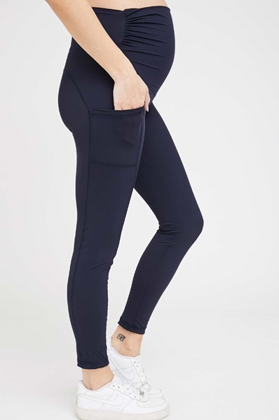 Picture of Active Maternity Leggings Navy