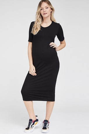 Picture of Out and About Fitted Maternity Dress
